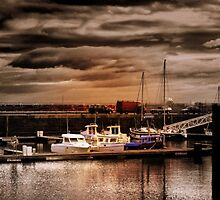 Boats at Rest by JacquiK