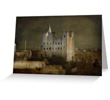 Rochester Castle Greeting Card
