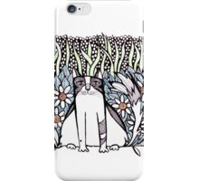 Between daisies iPhone Case/Skin
