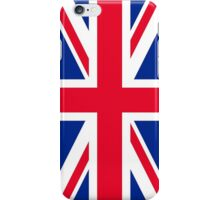 The Royal Union Flag Print iPhone Case/Skin