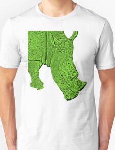 Groovy green rhino T-Shirt