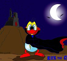 """Rick the chick """"DRACULA"""" by CLAUDIO COSTA"""