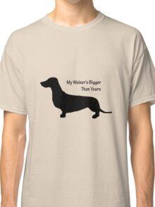 Sausage Dog/ Weiner dog funny T-Shirt Classic T-Shirt