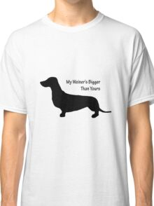 Sausage Dog/ Weiner dog funny T-Shirt Classic T-Shirt
