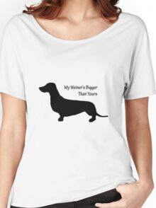 Sausage Dog/ Weiner dog funny T-Shirt Women's Relaxed Fit T-Shirt