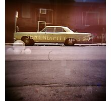 serendipity - Holga double exposure Photographic Print