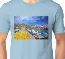 The fishing port of Myrina - Lemnos island Unisex T-Shirt