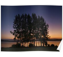 Sunsets on Warners Bay Poster