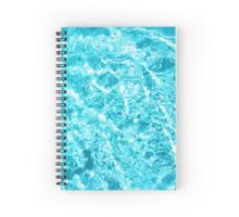 The Aqua Print Spiral Notebook