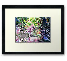 Dreaming of a Rose Garden Framed Print