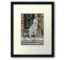 The Master of the House Framed Print