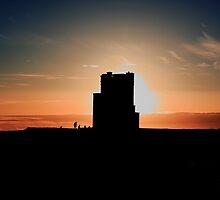 Brien's Tower At Sunset by aidan  moran