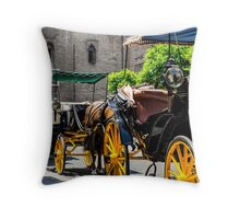 Streets of Sevilla - Spain  Throw Pillow