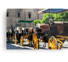 Streets of Sevilla - Spain  Metal Print