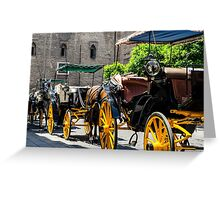 Streets of Sevilla - Spain  Greeting Card