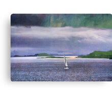 The Sound of Mull Canvas Print
