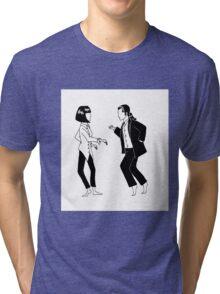Uncomfortable silences Tri-blend T-Shirt