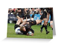 Try scored. Greeting Card