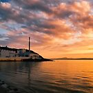 Bowmore sunset by Kasia-D