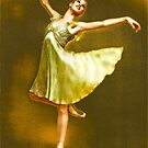 NYC Ballet's great ballerina, Kyra Nichols by Daniel Sorine
