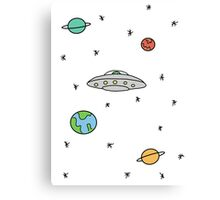 Space; The Final Frontier  Canvas Print