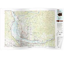 USGS Topo Map Washington Vancouver 244454 1979 100000 Poster