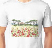 Poppy Field Unisex T-Shirt