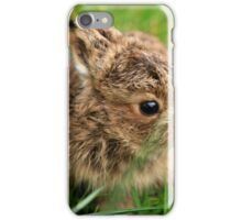 Leveret In The Grass iPhone Case/Skin
