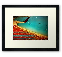 I'm coming home  Framed Print