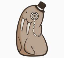 Dignified Walrus Kids Tee