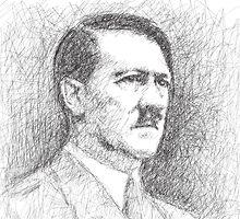 Adolf Hitler by tjansenliong