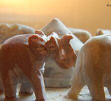 LITTLE ELEPHANTS by RED-RABBIT