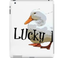Lucky Duck iPad Case/Skin