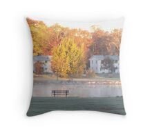 October Seat Throw Pillow