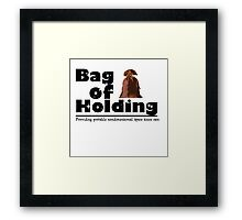 Bag of Holding Framed Print