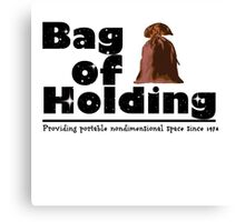 Bag of Holding Canvas Print