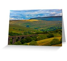 Above the Viaduct - Dentdale Greeting Card