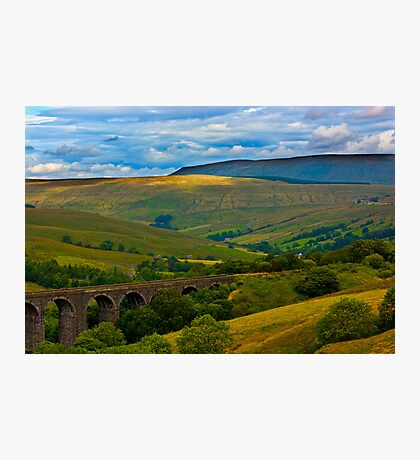 Above the Viaduct - Dentdale Photographic Print
