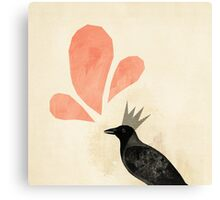 King Crow Canvas Print