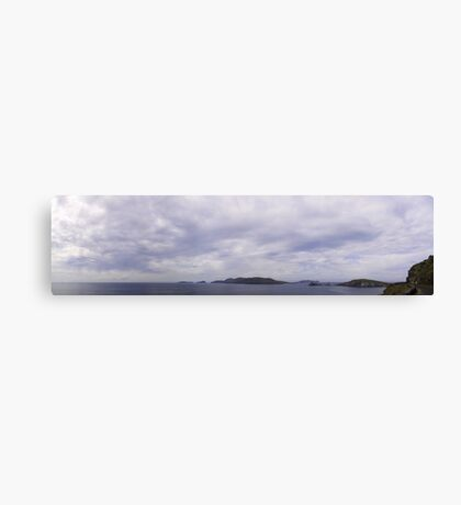Blasket Islands Panorama Canvas Print