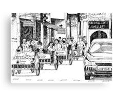 Ttrishaw tourist Canvas Print