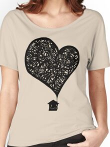 Plumes of Love V2 Women's Relaxed Fit T-Shirt
