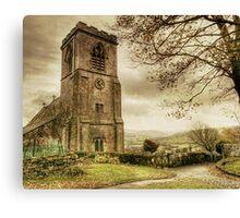 High Above Yorkshire Canvas Print