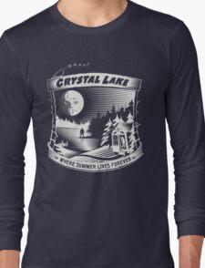 Camp Crystal Lake: Where Summer Lives Forever Long Sleeve T-Shirt