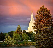 The Idaho Falls Mormon Temple by IMAGETAKERS