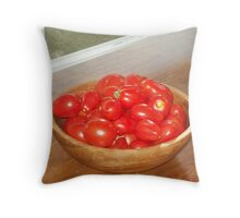 Summer's Harvest Throw Pillow
