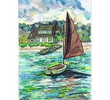 Luffing Sails Photographic Print