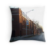 Early Morning on Lake Street Throw Pillow