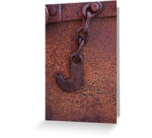 Hook Greeting Card