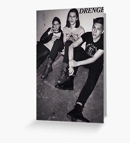DRENGE Greeting Card